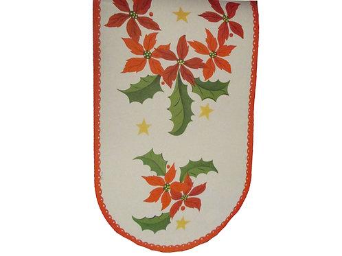 Vanha joulupaperi kaitaliina, -60 luvulta. Joulutähti