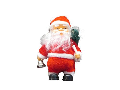 Vanha joulukoriste, soittava joulupukki
