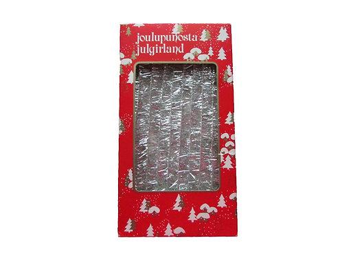 Joulukuusen punosnauhaa -70 luvulta, alkuperäispakkauksessa