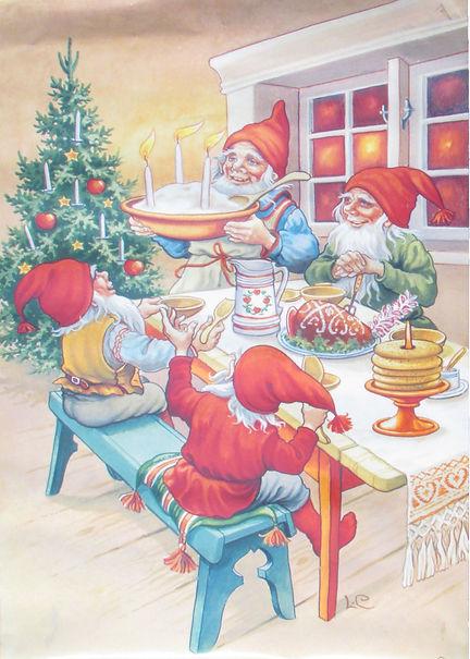 Joulujuhla, pikkijoulu, Joulu Tonttukylässä