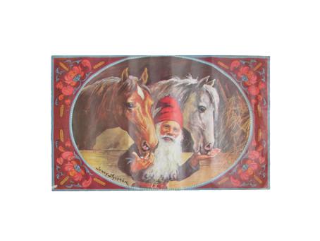 Vanha joulukoriste - paperitaulu