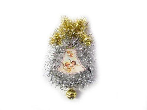 Joulukello, piipunrassikoriste, joulukello ja enkeli