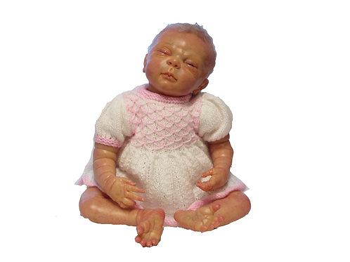 Reborn nukke Fanny, pituus 48cm