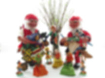 easter decoration, christmas elf, santa claus