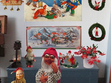 Vanhanajan joulukoristeet