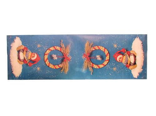 Joulupaperiliina, tonttu-nukke ja puurovati -60 luvulta