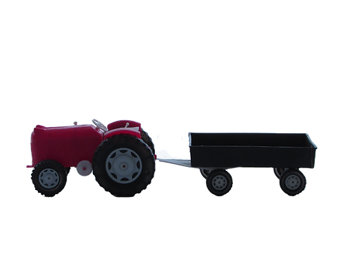 Vanhat lelu traktori -60 luvulta