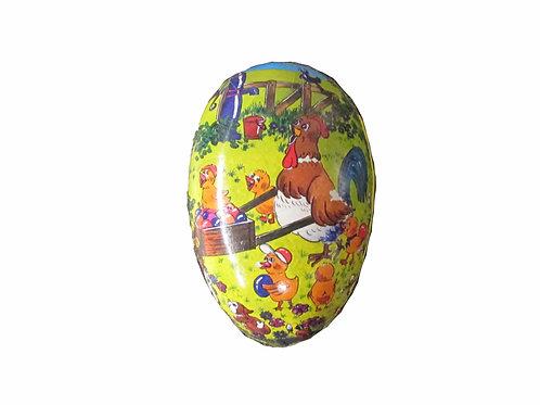 Vanha pääsiäismuna, kana ja munakärry