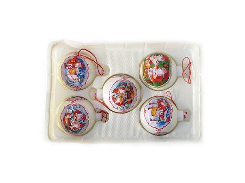 Joulukuusen koristepallo, joulupallo, tonttupallot