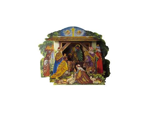 Jouluseimi, antiikkinen joulukoriste, pyhä perhe