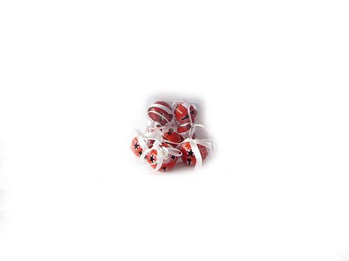 Joulukuusen koriste tiut