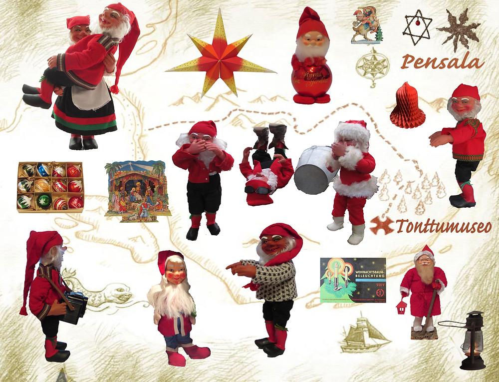Joulukoristemuseo, Nähtävyys, museot, kotimaassa, matkailu, lähiseutu, tutustu joulukoristeisiin,