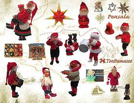 Arne Hasle tomtar, julrekorationer, öljelykta, julkransljus, kottomtar, piprensatomtar