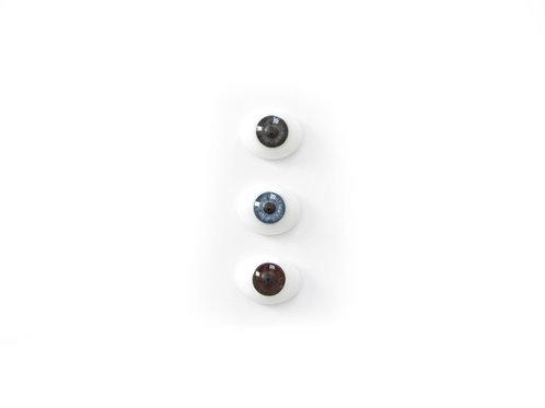Nuken silmät - lasia - 22mm