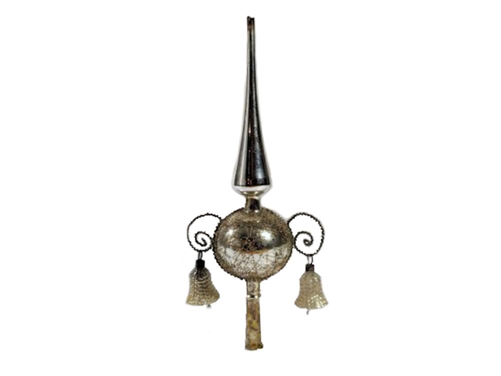 Köyhänmiehen hopea, lasikellot, latvaspiira, latvakoriste, lasikoriste, antiikkikoriste