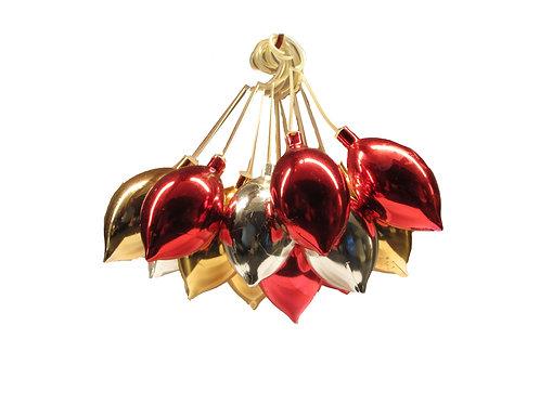 Joulukuusen koristeet, koristepallot, koristepisarat