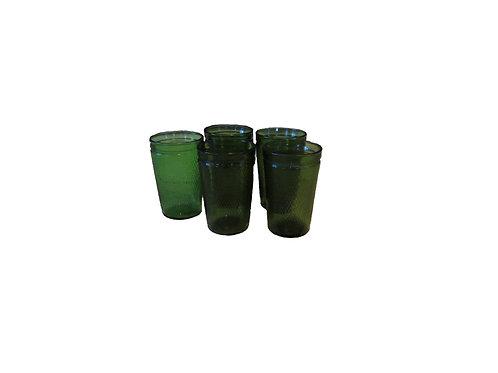 Vihreät juomalasit -60 luvulta