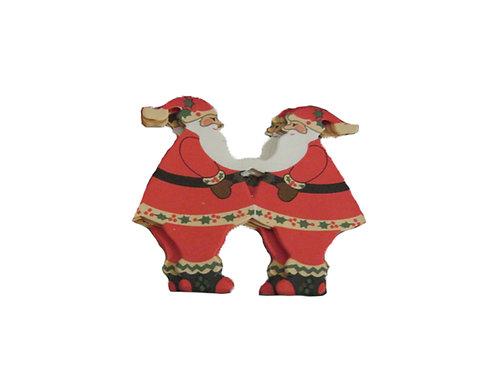 Harvinainen joulupukki rivi -60 luvulta. Tonttuhaitari