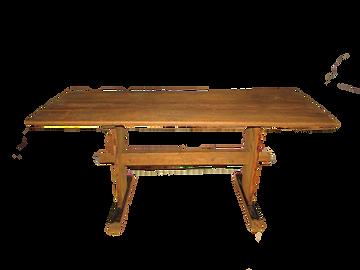 Länkkupöytä, vanha pöytä, talonpoikaispöytä, puupöytä, pirttipöytä, tuvanpöytä, antiikkipöytä,