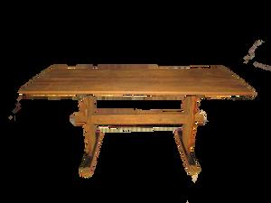 Vanha pöytä, lautapöytä, talonpoikaispöytä, pirttipöytä, pirttikalusto