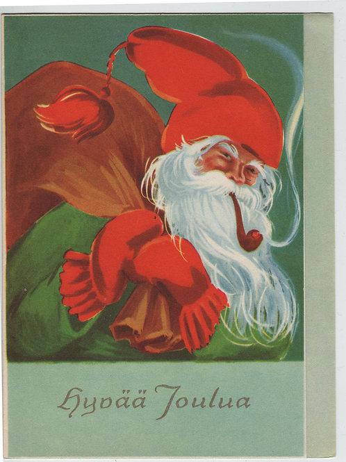 Vanhoja pulaajan joulukortteja -40 luvulta, erilaisia