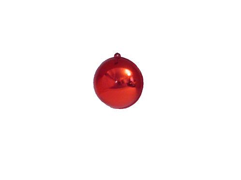 Saumapallo, joulukuusenkoriste, vanha kuusenkoriste, punainen