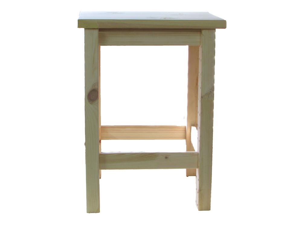 Palla, jakkara, tee itse jakkara, puutyöt, käsillä tekeminen, puu istuin, desing huonekalu