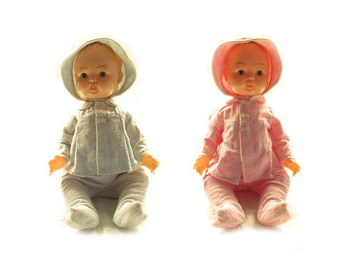OK-Kader nukke, vanha lelu -50 luvulta, antiikkinukke