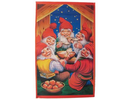 Vanhat joulukoristeet - Paperitaulut