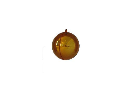 Saumapallo, keltainen. Joulukuusenkoriste, joulupallo