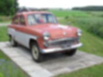Veteraaniauto, vanha auto, Mosse, museoauto, vanhan auton kunnostus