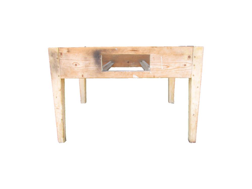 Klaffipöytä, vanha pöytä, puutyöt, kädentaidot