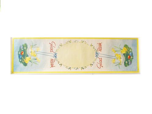 Pääsiäis paperiliina, tiput keinuu munankuoressa