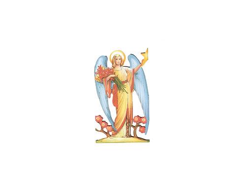 Enkelirivi, enkelijono, enkeli, kiiltokuvaenkeli, pahvienkeli, jouluenkeli, kukkaisenkeli