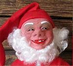 Vanha tonttu, joulupukki, joulukoriste, Arne Hasle tonttu, tomtenisse, tomtar