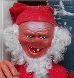 Tonttuja, nukkeja, leluja, Vanha joulukoriste, joulukoristemuseo, joulutonttu, tonttu, joulupukki, Arne Hasle, tomtenisse, Norska tomte
