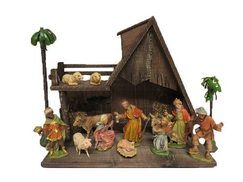 Vanha jouluseimi ja hahmot -60 luvulta 8-11,5cm
