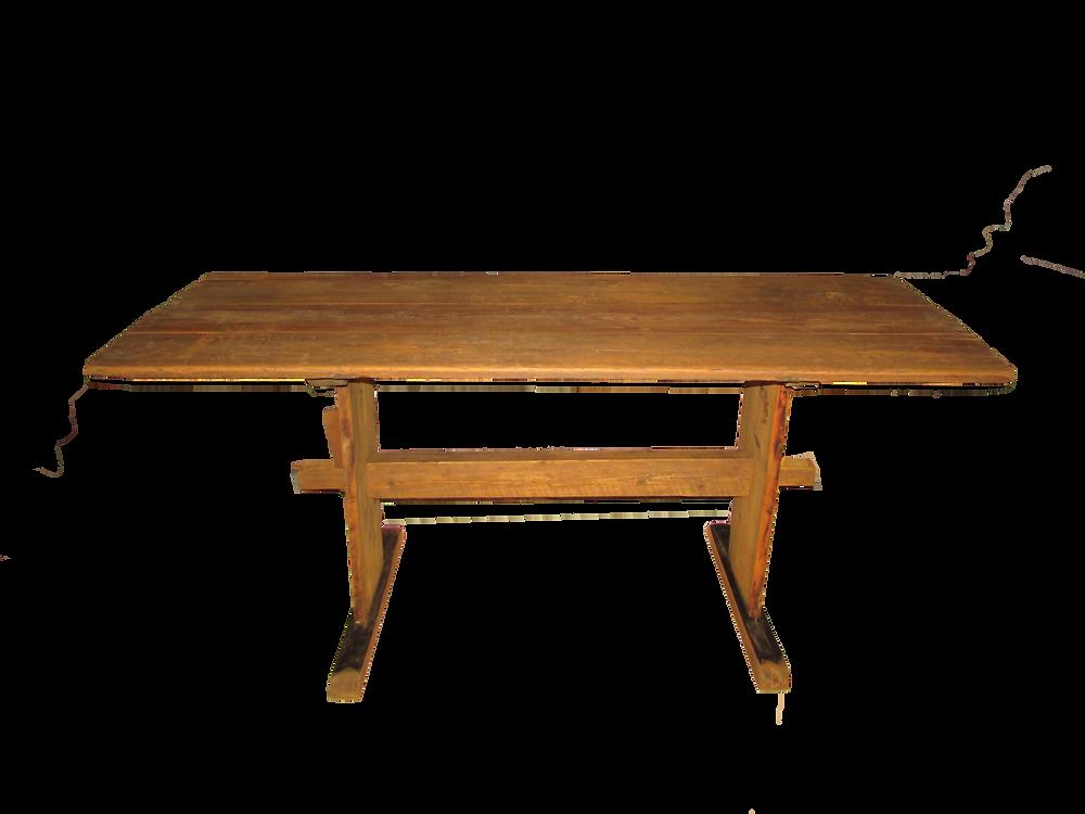 Pirttikalusto, puupöytä, lautapöytä, vanha huonekalu,