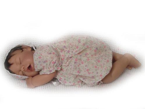 Suloinen vauvanukke Saga 48cm