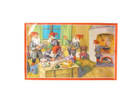 Paljon ihania joulupaperitauluja