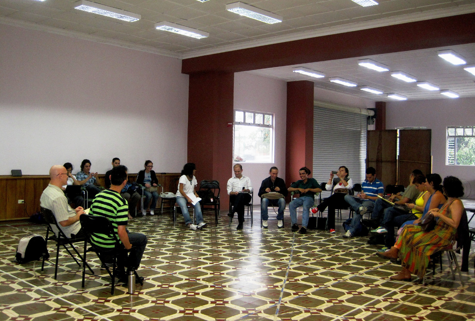 """Directing Seminar, """"V Encuentro Nacional de Teatro"""""""