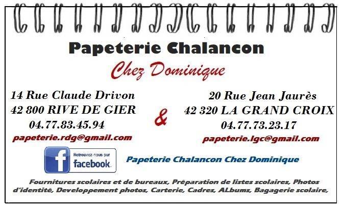 PAPETERIE CHALANCON