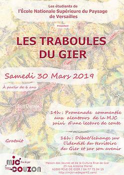 Affiche Traboules du Gier 30mars 2019 -