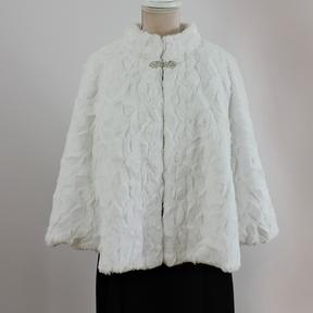 Chloe - White Faux Fur