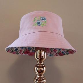 Bucket of Blooms - Pink/Blue