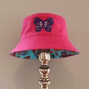 Bucket of Butterflies - Hot Pink