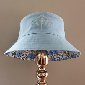 Bucket of Blooms - Blue