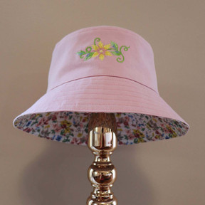 Bucket of Wildflowers - Pink
