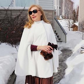 Emma - Faux Fur/Winter White
