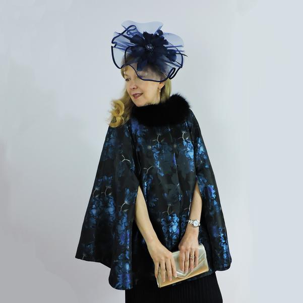 Grace - Blue Floral